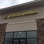 #1 hair and nails