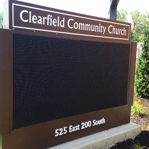message center signs