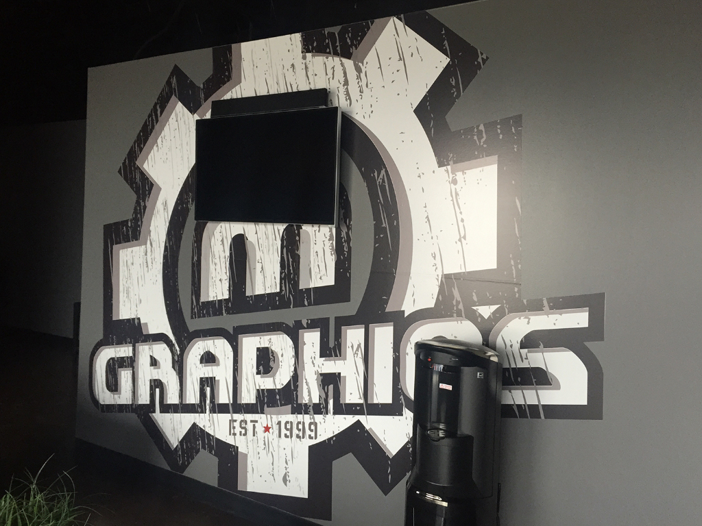Dynamic Interior Wall Graphics Add Life to Your Office